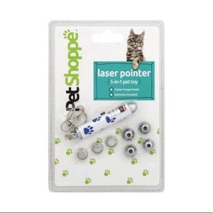 🌶 PETSHOPPE 5-in-1 Laser Pet Toy